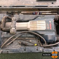 Bosch GSH 11 VC Breekhamer || In koffer || Met garantie