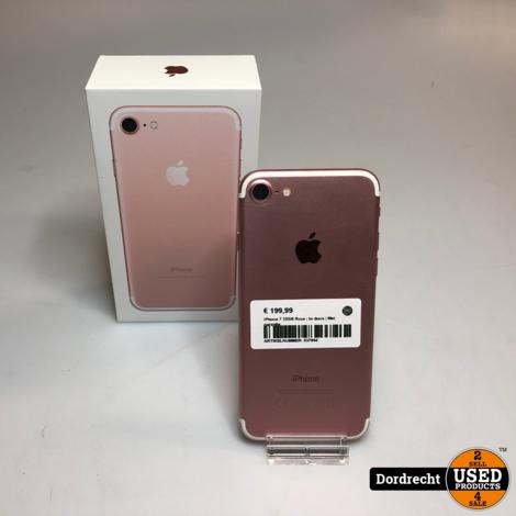 iPhone 7 32GB Roze | In doos | Met garantie