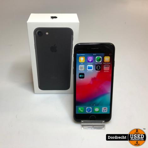 iPhone 7 32GB Zwart | In doos | Met garantie