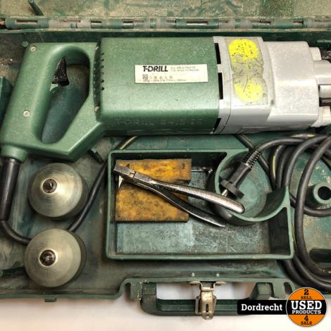 T-Drill T30 Finland Koperen Pijp Boor / Boormachine   In koffer   Met garantie