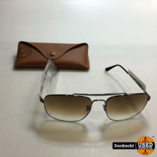 Rayban RB3560 zonnebril || Donkerbruin || Met hoes