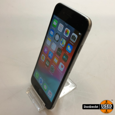 iPhone 6 16GB Space Gray || Met garantie