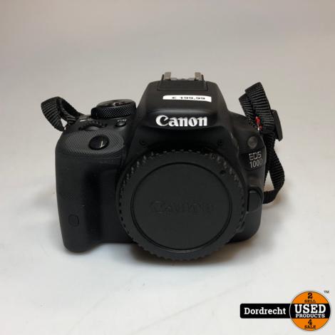 Canon EOS 100D Body Digitale Camera    Met garantie