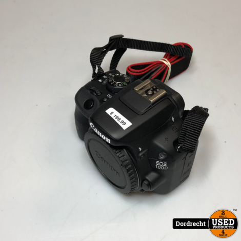 Canon EOS 100D Body Digitale Camera || Met garantie