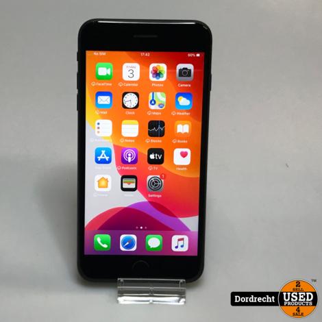 iPhone 8 Plus 64GB || Zwart || Met garantie ||