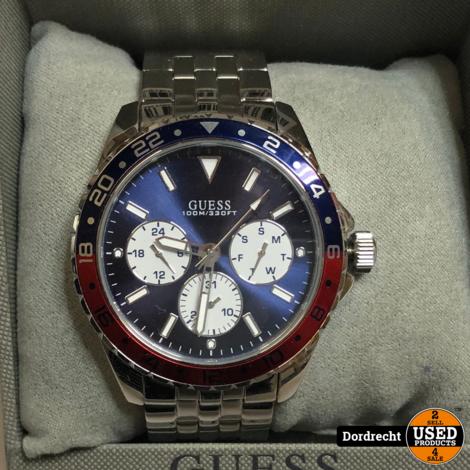 Guess Horloge Staal   In doos   Met garantie