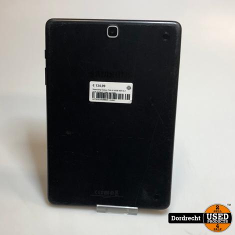 Samsung Galaxy Tab A 16GB WiFi 9.7Inch Zwart || Met garantie