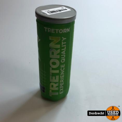Tretorn Tennisballen - geel/groen | NIEUW in doos