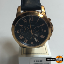 Fossil FS4835 horloge | Met garantie