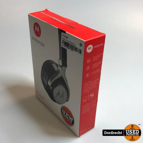 Motorola Pulse 2 Koptelefoon Bedraad | NIEUW in doos | Met garantie