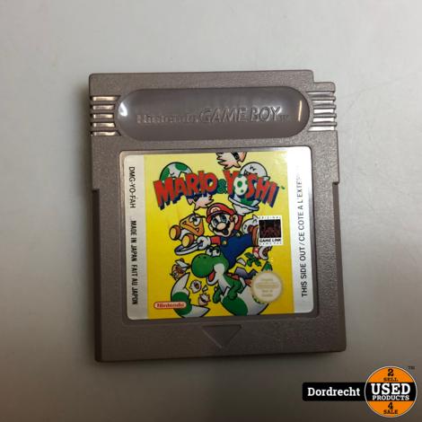 Nintendo GameBoy spel || Mario & Yoshi