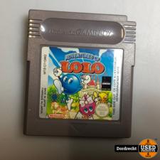 Nintendo GameBoy spel    Adventures of Lolo