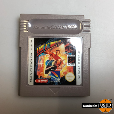 Nintendo GameBoy spel | Last Acton Hero