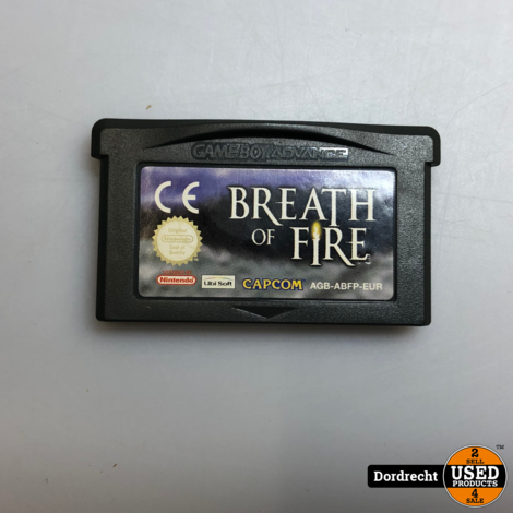 Nintendo GameBoy Advance spel || Breath of Fire