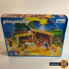 PlayMobil 4884 Grote Kerstal Christmas | In doos | Met garantie