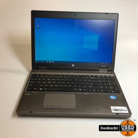 HP Probook 6570B Laptop | Intel 2.5GHz | 8GB RAM | 128GB SSD | Win10 Pro 64-Bit | Met garantie