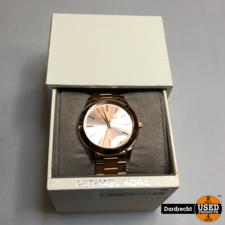 Michael Kors Horloge Rose Goud | Met schakels | In doos