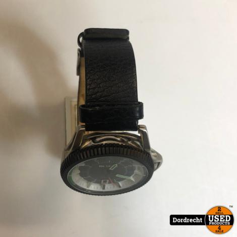 Diesel Horloge DZ1717 Zwarte band | Met garantie