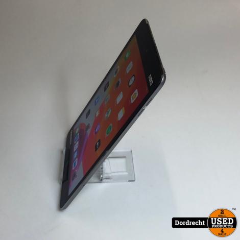 iPad mini 4 64GB Wi-Fi + Cellular    Space Gray    Met garantie