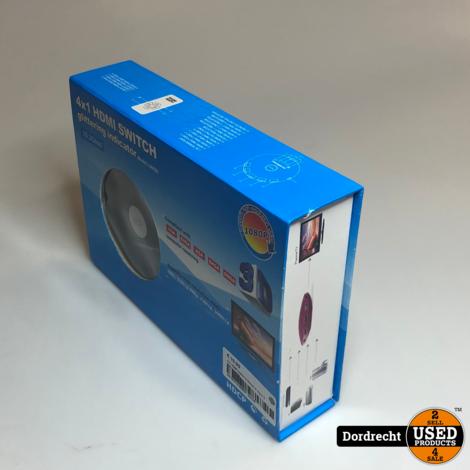4x1 HDMI Switch || Nieuw in doos || Met garantie