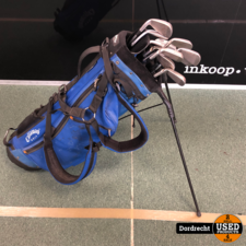 Golfclubs || Set met 11 clubs || Incl. tas || Met garantie