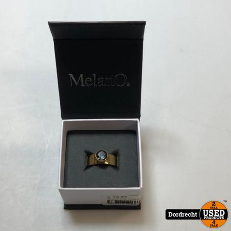 MelanO ring maat 60 || Goud || In doosje || Met garantie