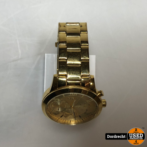 Guess W1070L2 horloge || Goud || Met garantie