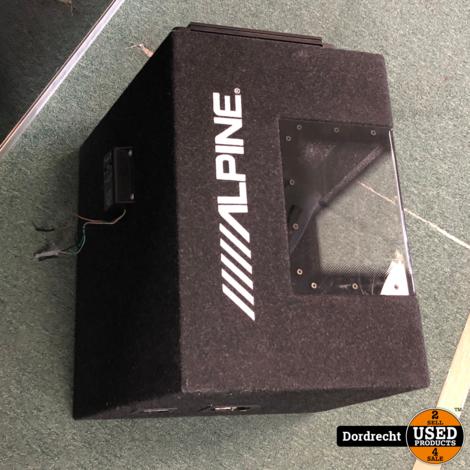 Alpine SBG 1244BG Subwoofer + Versterker || Met garantie