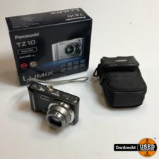 Panasonic TZ10 camera || Compeet in doos || Met garantie