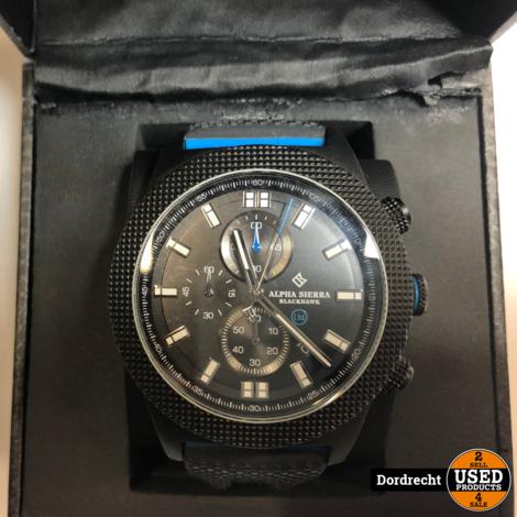 Alpha Sierra Blackhawk horloge || In doos || Met garantie