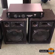 Konig AMP2400 Versterker met 2 Speakers Pasief || Met garantie