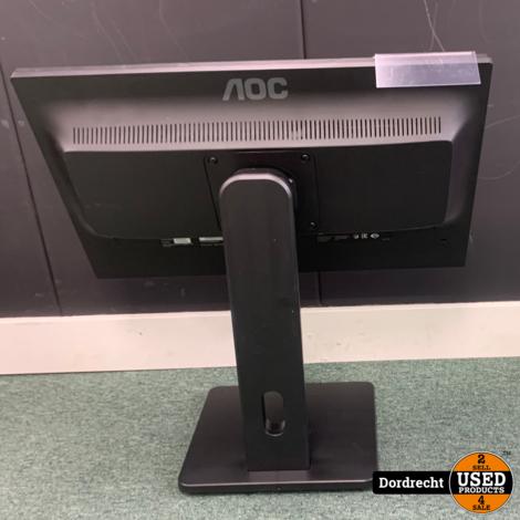 AOC E2275PWJ Monitor    In doos    Met garantie