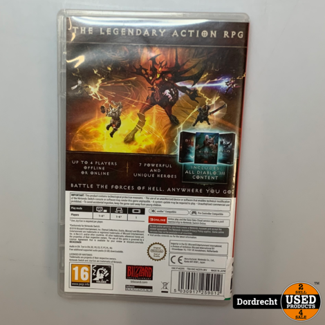 Nintendo Switch Spel   Diablo Eternal Collection