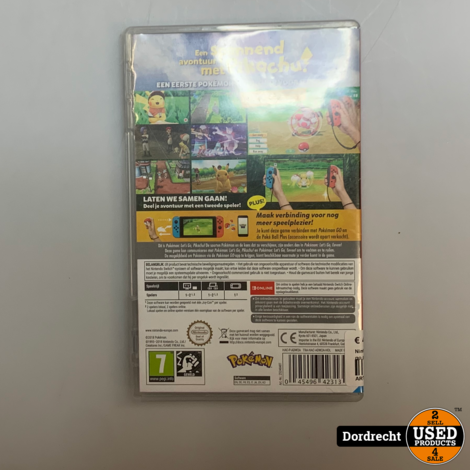 Nintendo Switch Spel || Pokemon let's go pikachu || Met garantie