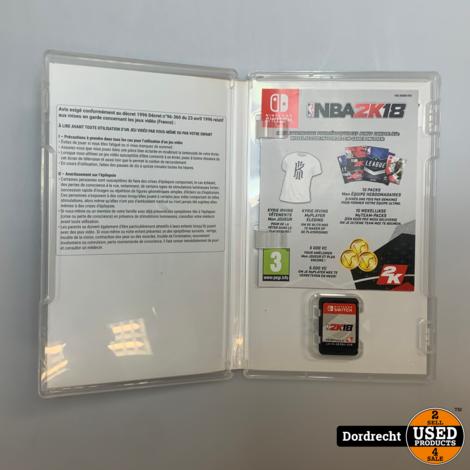 Nintendo Switch Spel || 2K18 || Met garantie