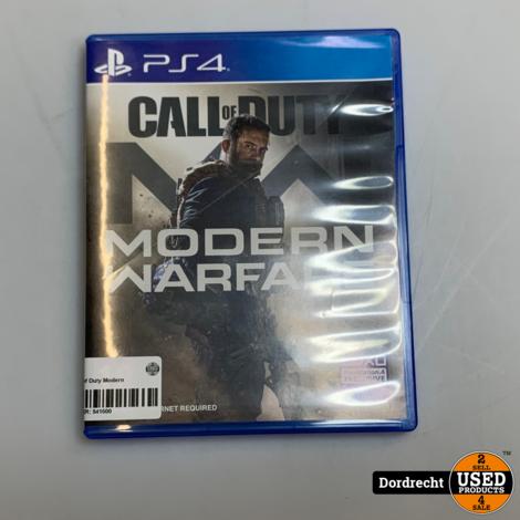 PS4 spel || Call of Duty Modern Warefare || Met garantie