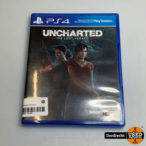 PS4 spel || Uncharted The Lost Legacy