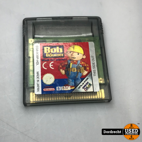 Nintendo GameBoy Color spel || Bob the Bouwer