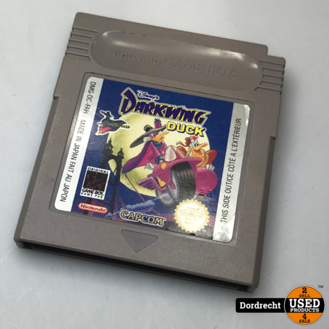 Nintendo GameBoy spel || Darkwing Duck