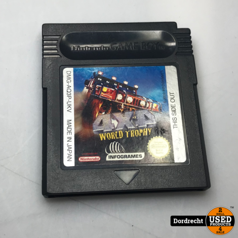 Nintendo GameBoy spel || 4x4 World Trophy