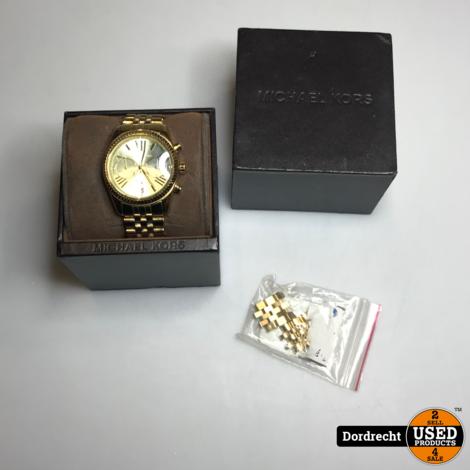 Michael Kors MK horloge MK5556 || Goud || Extra schakels || Met doos || Met garantie