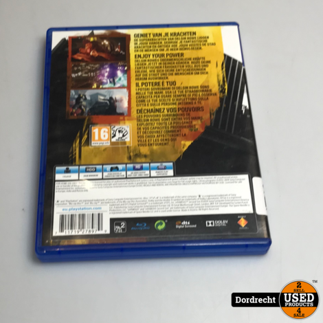 Playstation 4 spel || Infamous - Second son