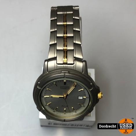 Citizen Titanium WR100 Horloge || Met garantie