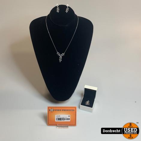 Pandora set van 3 (Ketting, ring en oorbellen) | Met garantie