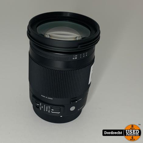 Sigma 18-300mm Lens    Met garantie