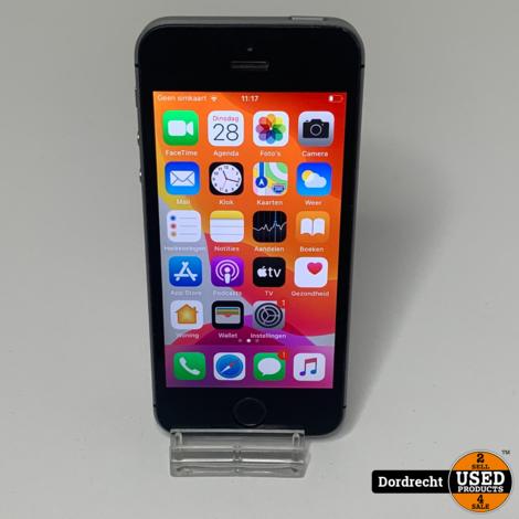 iPhone SE 64GB Space Gray | Gebruikt || Met garantie