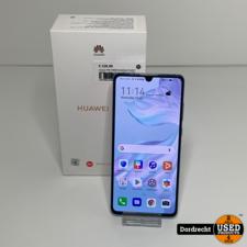 Huawei P30 128GB Breathing Crystal | Schade achter | In doos | Met garantie
