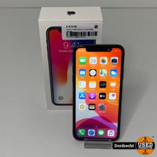 iPhone X 64GB Space grey || In doos || Met garantie