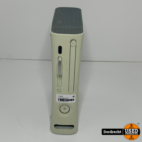 Xbox 360 231MB Wit | Zonder controller | Met garantie