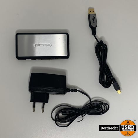 Sitecom USB hub 7 port || Met garantie